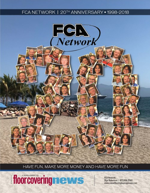 Floor Covering News Features FCA Network 20-year Anniversary