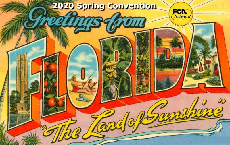 FCA Network 2020 Spring Convention: Postponed
